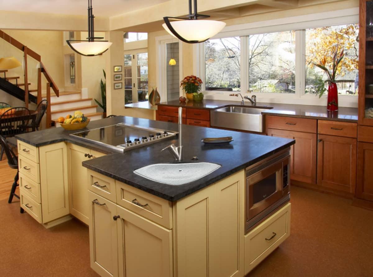 кухня залог плита на кухне посередине фото всегда оставаться